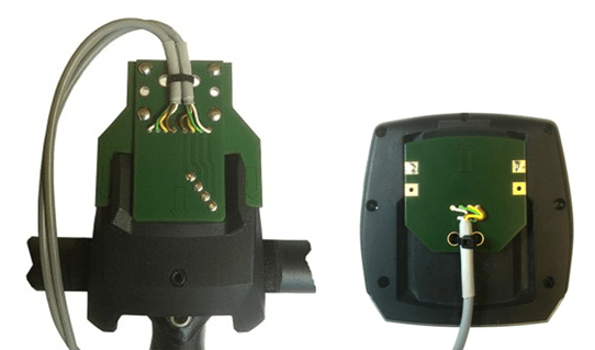 JUM-Ped die Stecker für das Intuvia Display