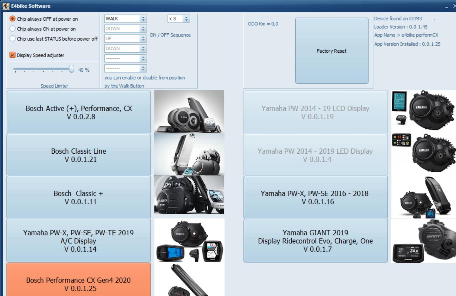 VOLspeed V3 für Bosch Active Performance CX E-Bike Tuning Bosch Gen4 2020