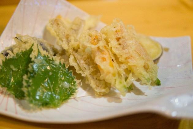 カンゾウの天ぷら