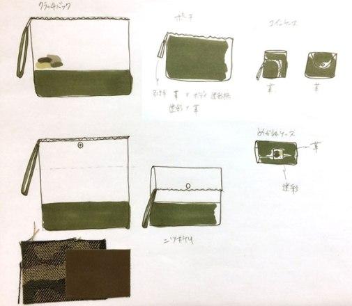 次に作りたいものをイラストに描いてリストアップ。ものづくり日記