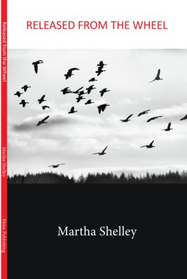 Released From the Wheel by Martha Shelley, poet and author. Ebisu Publishing