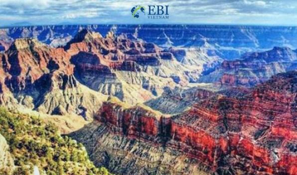 Núi Grand Canyon tại Mỹ