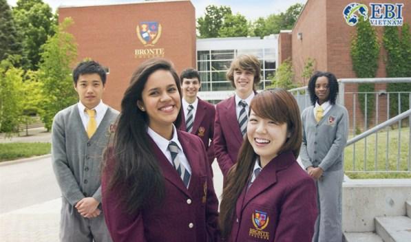 Học bổng du học Canada tại trường Cao đẳng Bronte