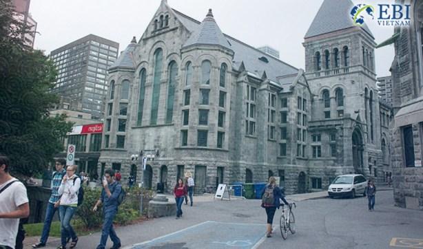 Khuôn viên chính của Đại học McGill