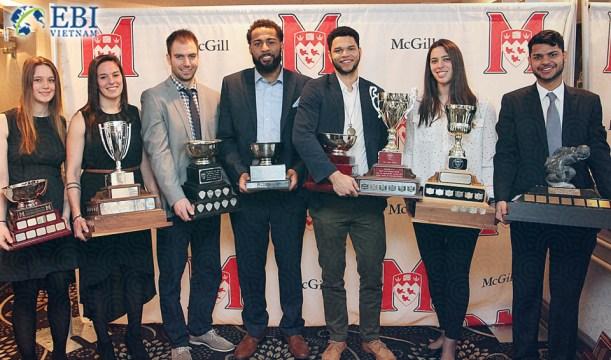 Thành tích của Đại học McGill