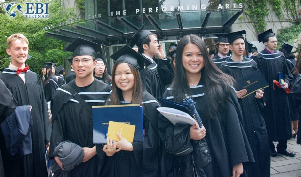 Sinh viên tốt nghiệp Đại học British Columbia (Canada)