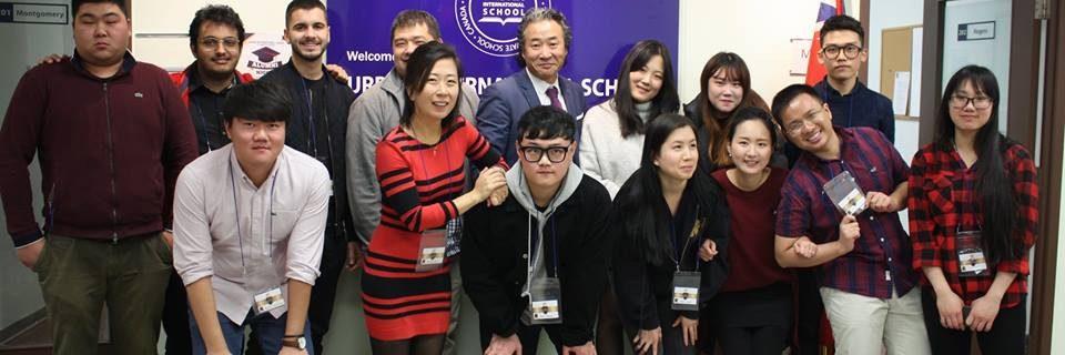 Sinh viên tại trung học quốc tế Urban sinh (Urban International High School)
