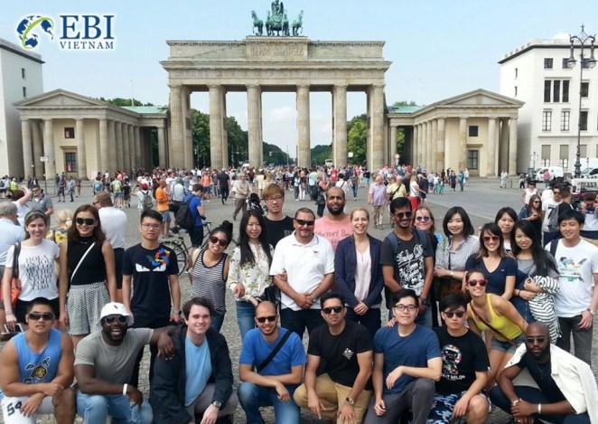 Du học sinh Việt sinh sống và học tập tại Đức.