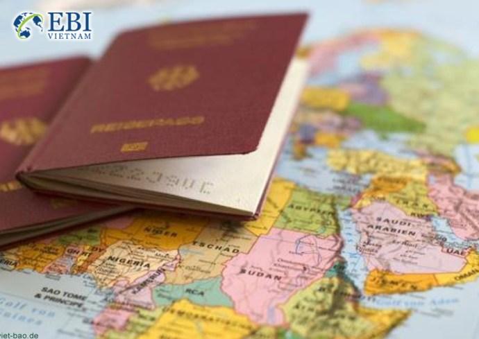Visa để định cư tại Đức.