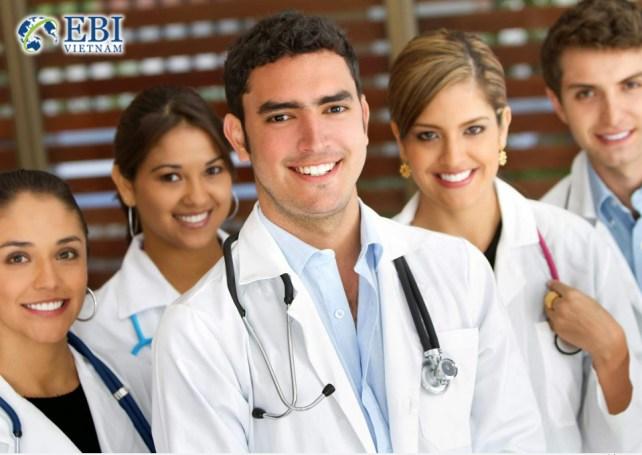 Du học ngành y khoa tại Đức.
