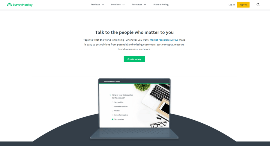 Using platforms such as SurveyMonkey will you to gain feedback that is very useful, both good and bad