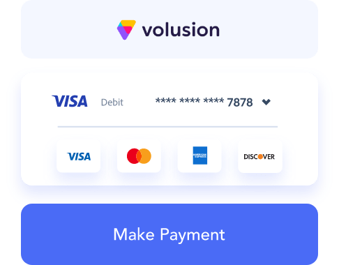 Volusion payment gateway