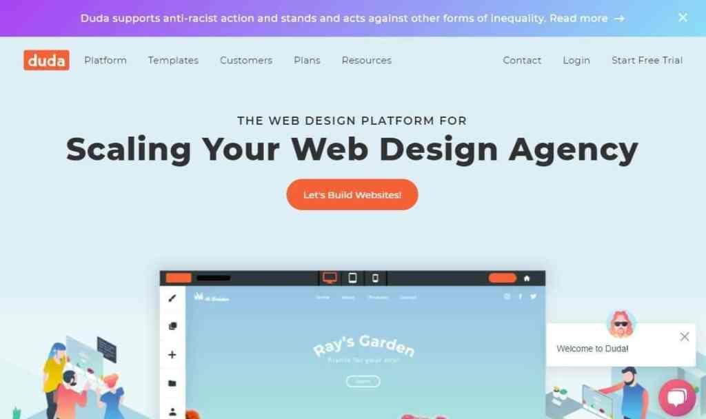 Best Website Builder Duda