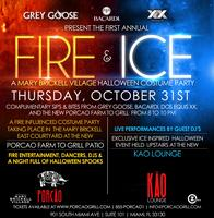 Grey Goose, Bacardi, and Dos Equis XX present: Fire and Ice...