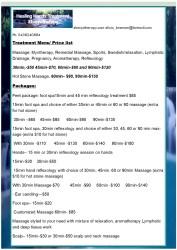 letter menu