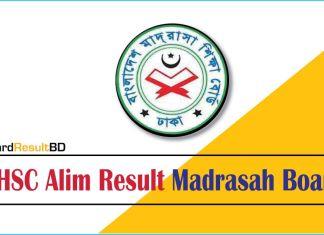 HSC Alim Result 2020