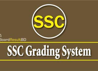 SSC Grading System
