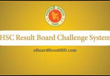 HSC Result Board Challenge 2018