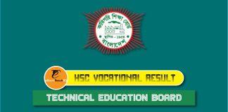 HSC Vocational Result 2018