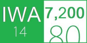 IWA 14 Crash Rating, 7,200 kg vehicle at speed of 80 kph