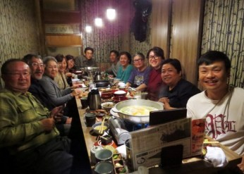 They even hosted a welcome dinner in Akihabara where we had a chance to meet the other Birdwatchers from Tokyo, Chiba and Ibaraki.