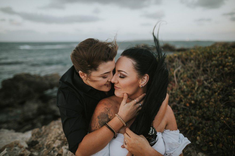 Jax+Vix | Zoe Theiadore Photography | Cape Peron Photos | Point Peron Photography | Perth Wedding Photographer | Lesbian Couples Photography