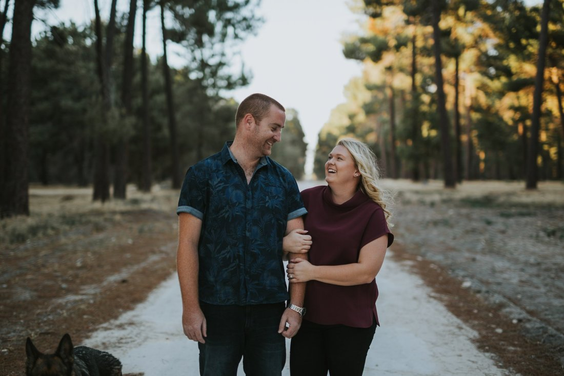 Perth Wedding Photographer | Pines Forrest Engagment | Ebony Blush Photography | Corry + Reece | Pre Wedding104