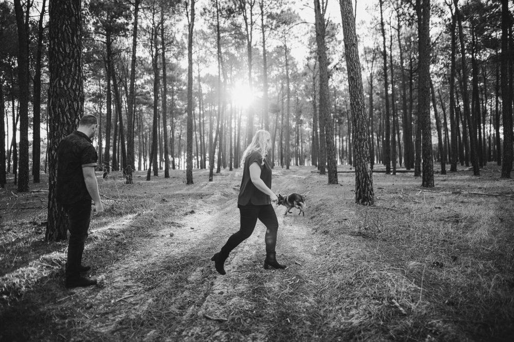 Perth Wedding Photographer | Pines Forrest Engagment | Ebony Blush Photography | Corry + Reece | Pre Wedding133