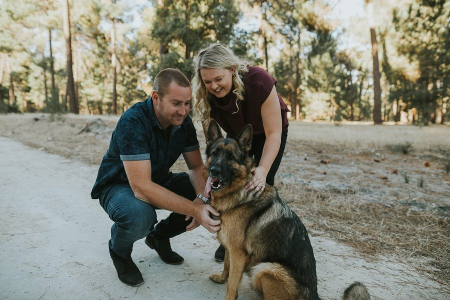 Perth Wedding Photographer | Pines Forrest Engagment | Ebony Blush Photography | Corry + Reece | Pre Wedding146