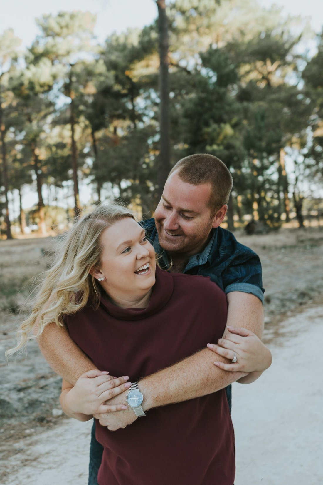 Perth Wedding Photographer | Pines Forrest Engagment | Ebony Blush Photography | Corry + Reece | Pre Wedding190