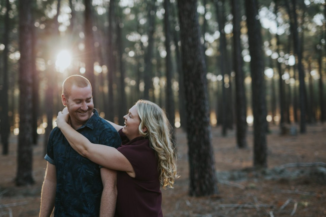 Perth Wedding Photographer | Pines Forrest Engagment | Ebony Blush Photography | Corry + Reece | Pre Wedding68