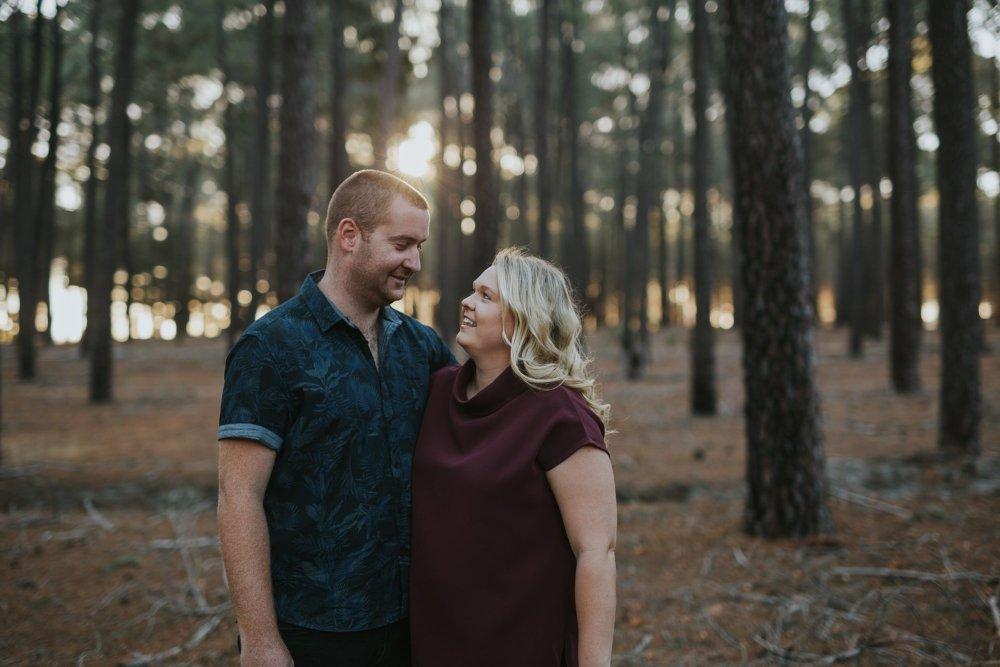 Perth Wedding Photographer | Pines Forrest Engagment | Ebony Blush Photography | Corry + Reece | Pre Wedding76