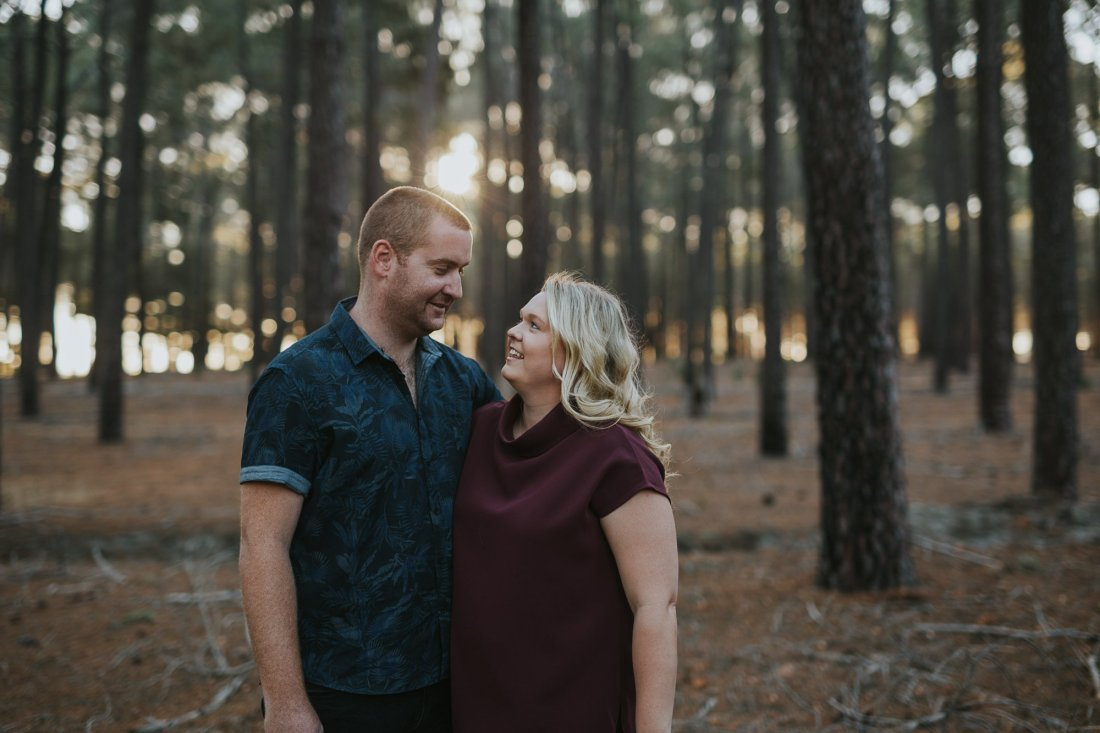 Perth Wedding Photographer | Pines Forrest Engagment | Ebony Blush Photography | Corry + Reece | Pre Wedding76