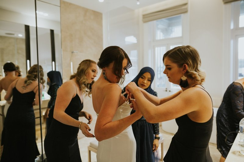 Old Pickle Factory Wedding | Perth Wedding Photographer | Night Wedding Perth | Ebony Blush Photography | Zoe Theiadore | C+T119