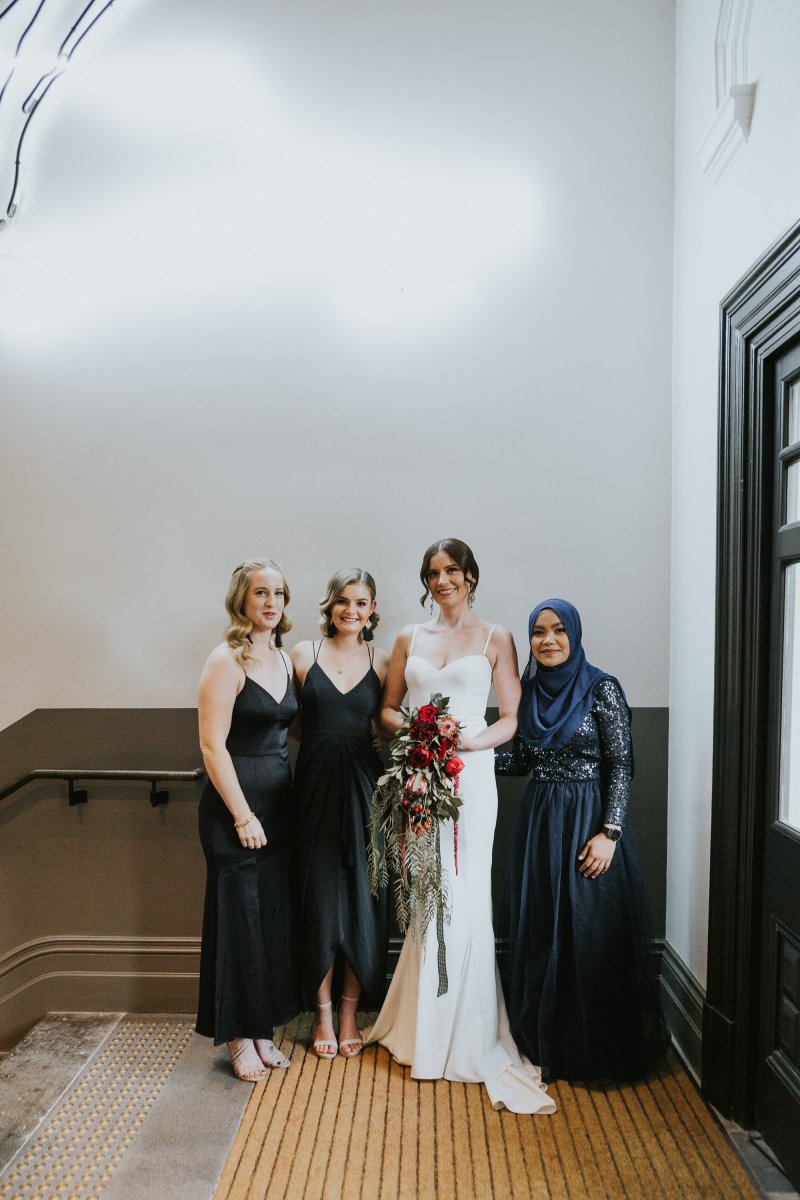 Old Pickle Factory Wedding | Perth Wedding Photographer | Night Wedding Perth | Ebony Blush Photography | Zoe Theiadore | C+T127