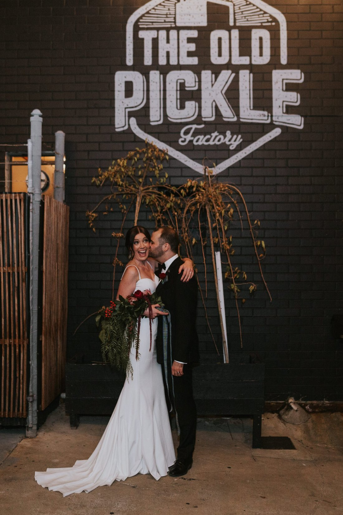 Old Pickle Factory Wedding | Perth Wedding Photographer | Night Wedding Perth | Ebony Blush Photography | Zoe Theiadore | C+T75