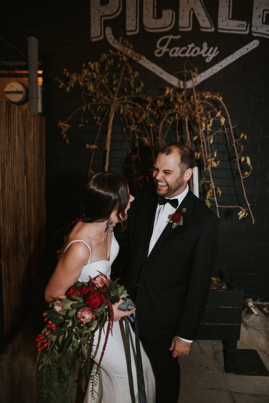 Old Pickle Factory Wedding | Perth Wedding Photographer | Night Wedding Perth | Ebony Blush Photography | Zoe Theiadore