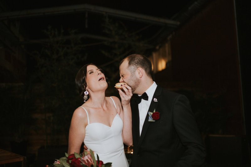 Old Pickle Factory Wedding | Perth Wedding Photographer | Night Wedding Perth | Ebony Blush Photography | Zoe Theiadore | C+T83