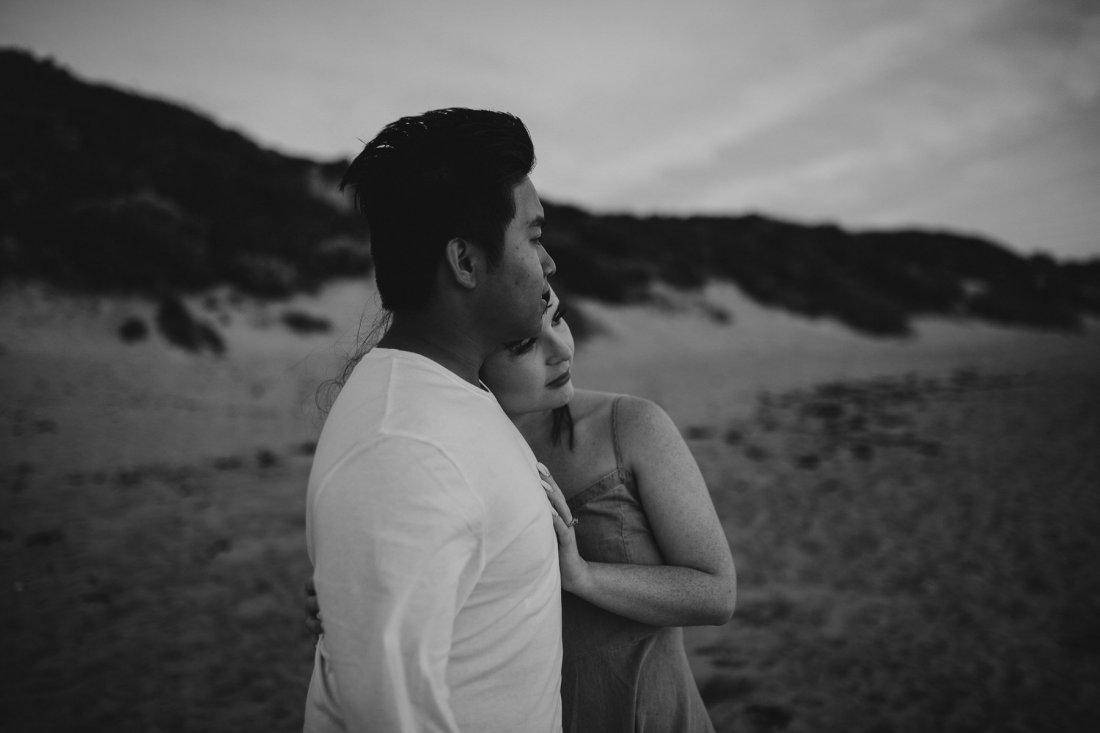 Ebony Blush Photography | Perth Wedding Photographer | Paton + Klyde | Engagement76 Beach Engagement Photos, Perth