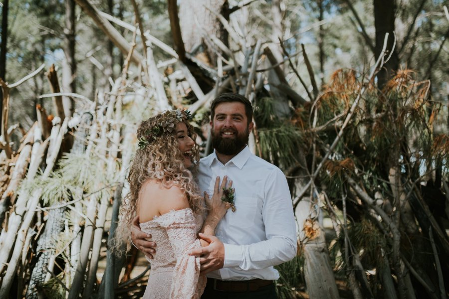 Sinéad + Shane | Pines Forrest Elopement | Ebony Blush Photography | Perth Wedding Photographer2