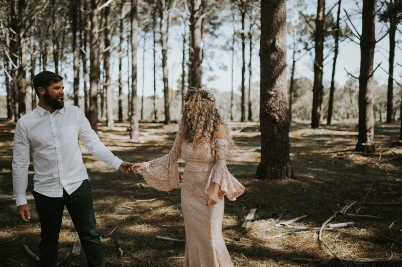 Sinéad + Shane | Pines Forrest Elopement | Ebony Blush Photography | Perth Wedding Photographer42
