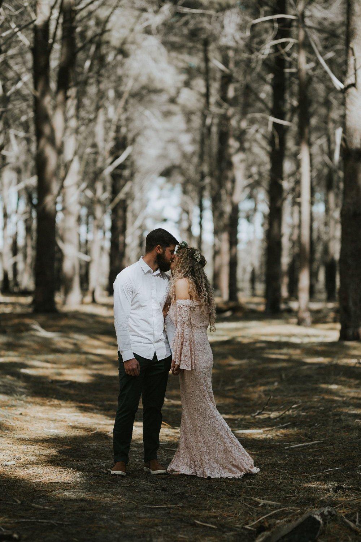 Sinéad + Shane | Pines Forrest Elopement | Ebony Blush Photography | Perth Wedding Photographer66