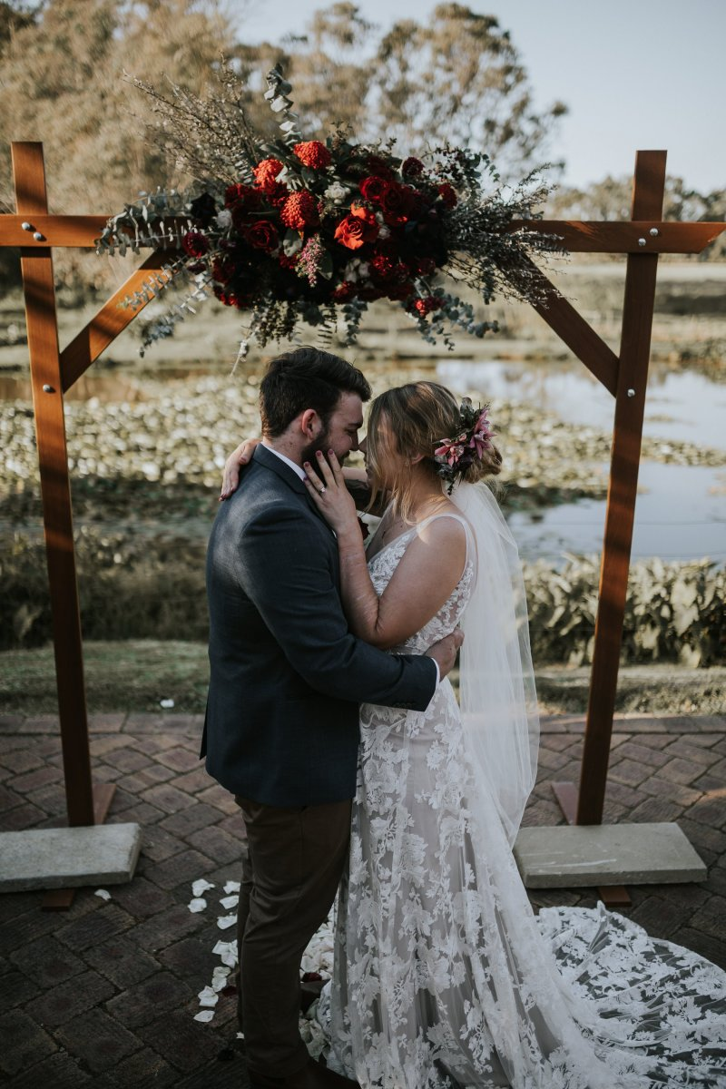 Chapel Farm Wedding Potos | Perth Wedding Photographer | Ebony Blush Photography | Brett + Blythe | 56