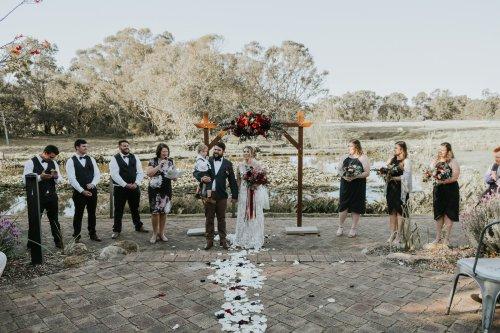 Chapel Farm Wedding Potos | Perth Wedding Photographer | Ebony Blush Photography | Brett + Blythe | 63