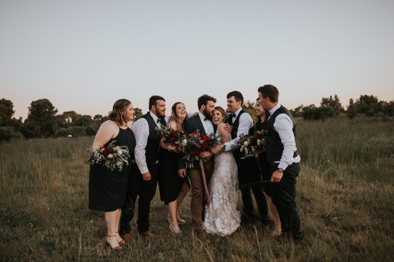 Chapel Farm Wedding Potos | Perth Wedding Photographer | Ebony Blush Photography | Brett + Blythe | 90