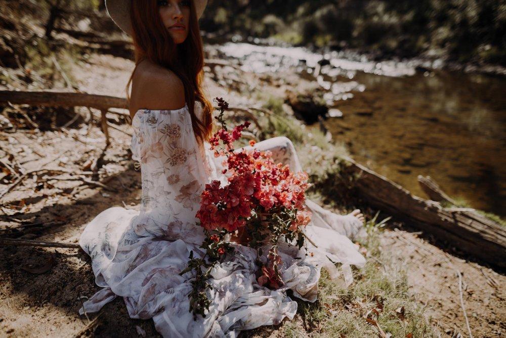 Nanga Bush Camp Bride Photography   Cora   Perth Wedding Photographer   Ebony Blush Photography