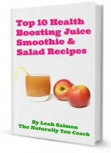 Leah Salmon Top 10 Health Boosting Juice Smoothie And Salad Recipes free recipe book - Ebony Directory - Black Business Directory