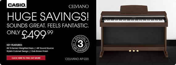 Buy Casio Celviano AP-220 Digital Piano