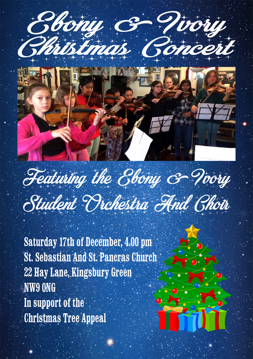 Ebony & Ivory Music School Christmas Concert
