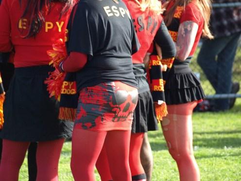 Rockdogs cheerleader squad